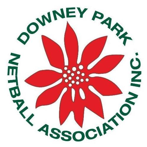 Downey Park Netball Association Logo